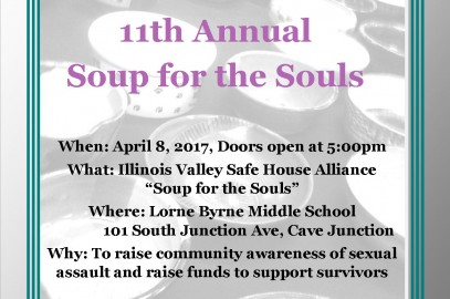 The 11th Annual Soup for the Souls Event